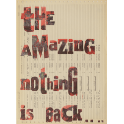 the amazing nothing ist back...